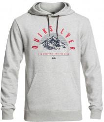 Mikina Quiksilver Big Logo Technical grey heather M
