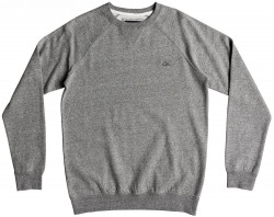 Mikina Quiksilver Everyday crew light grey heather
