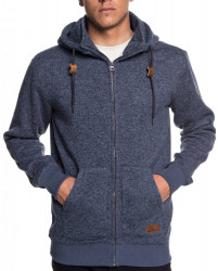 Mikina Quiksilver Keller Zip navy blazer heather