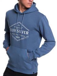 Mikina Quiksilver Nowhere North Hood bijou blue