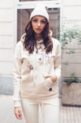 Mikina Sixth June Floral Embroidery Beige Farba: Béžová,
