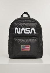 MR.TEE Batoh NASA Puffer Backpack black 22 l