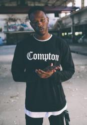 MR.TEE Compton Crewneck Farba: black,