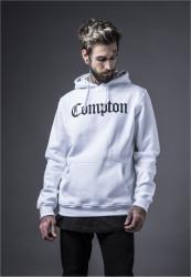 MR.TEE Compton Hooded Bandana Hoody Farba: white,