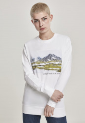 MR.TEE Dámska mikina Ladies Local Planet Crewneck Farba: white,
