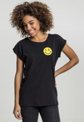 MR.TEE Dámske tričko Mister Tee Ladies LA Smile Tee Farba: black,