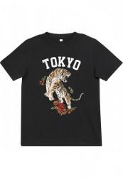 MR.TEE Detské tričko Kids Tokyo Tee Farba: black,