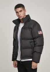 MR.TEE Pánska bunda NASA Two-Toned Puffer Jacket Farba: cool grey, #1