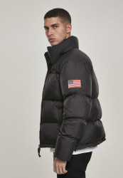 MR.TEE Pánska bunda NASA Two-Toned Puffer Jacket Farba: cool grey, #2