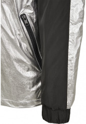 MR.TEE Pánska bunda Reflective Mister Tee Windbreaker Farba: black, #9