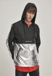 MR.TEE Pánska bunda Reflective Mister Tee Windbreaker Farba: black, #5
