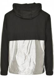 MR.TEE Pánska bunda Reflective Mister Tee Windbreaker Farba: black, #7