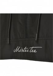 MR.TEE Pánska bunda Reflective Mister Tee Windbreaker Farba: black, #8