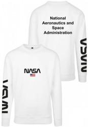 MR. TEE Pánska mikina Mister Tee NASA Crewneck white #2