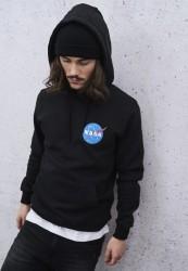 MR. TEE Pánska mikina Mister Tee NASA Small Insignia Hoody