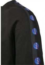 MR.TEE Pánska mikina NASA Insignia Tape Crewneck Farba: black, #8