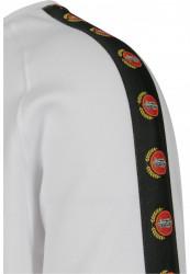 MR.TEE Pánska mikina NASA Small Wormlogo EMB Rocket Tape Crewneck Farba: white, #5