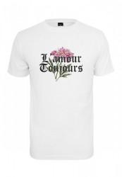 MR.TEE Pánske tričko Mister Tee LAmour Toujous Tee Farba: white,