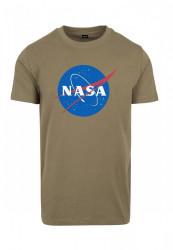 MR. TEE Pánske tričko Mister Tee NASA Tee olive