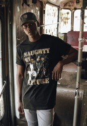 MR. TEE Pánske tričko Mister Tee Naughty by Nature 90s Tee