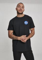 MR.TEE Pánske tričko NASA Logo Embroidery Tee Farba: white, #1