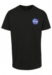 MR.TEE Pánske tričko NASA Logo Embroidery Tee Farba: white, #7