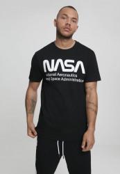 MR.TEE Pánske tričko NASA Wormlogo Tee Farba: white, #1