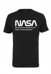 MR.TEE Pánske tričko NASA Wormlogo Tee Farba: white, #6
