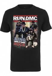 MR.TEE Run DMC King of Rock Tee Farba: black, #7