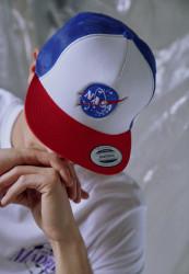 MR.TEE Šiltovka NASA Trucker Cap
