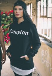 MR. TEE Unisex mikina Mister Tee Compton Hoody black