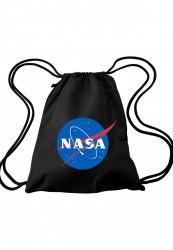 MR. TEE Vrecko NASA Gym Bag black