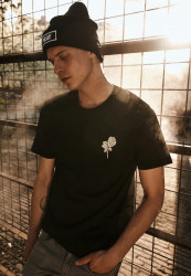 MR.TEE Wasted Youth Tee Farba: black,
