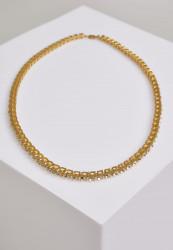 Náhrdelník URBAN CLASSICS Necklace With Stones gold