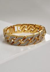 Náramok URBAN CLASSICS Glitter Bracelet gold