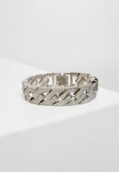 Náramok URBAN CLASSICS Glitter Bracelet silver