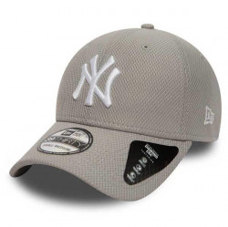 New Era 39thirty MLB Diamond Era NY Yankees Grey
