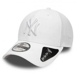 New Era 39thirty MLB Diamond Era NY Yankees White