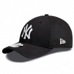 New Era 39thirty MLB League Basic NY Yankees Black White