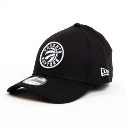 New Era 39thirty Monochrome Toronto Raptors
