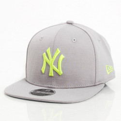 New Era 9Fifty Jersey Pop NY Yankees Grey