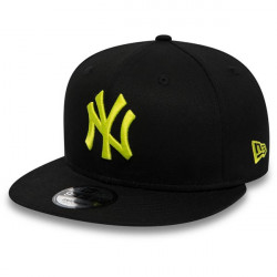 New Era 9Fifty MLB League Essential Snapback NY Yankees Black Cyber Green
