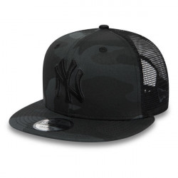 New Era 9Fifty MLB League Essential Trucker Cap Black Camo