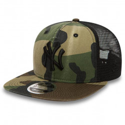 New Era 9Fifty Trucker NY Yankees Washed Camo