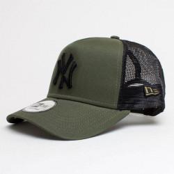 New Era 9Forty A Frame Trucker Cap Essential NY Yankees Army Green - UNI