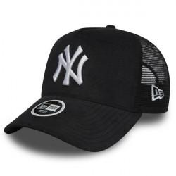New Era 9Forty A Frame Trucker Cap NY Yankees Micro Cord Black - UNI
