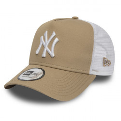 New Era 9Forty A Frame Trucker Essential NY Yankees Camel - UNI