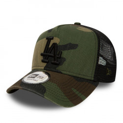 New Era 9Forty A Frame Trucker LA Dodgers Washed Camo -