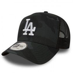 New Era 9Forty A Frame Trucker MLB Camo LA Dodgers Grey - UNI