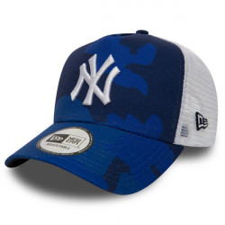 New Era 9Forty A Frame Trucker MLB Camo NY Yankees Blue - UNI
